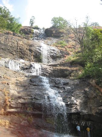 Archana Residency Munnar: Water fall on the way to Munnar