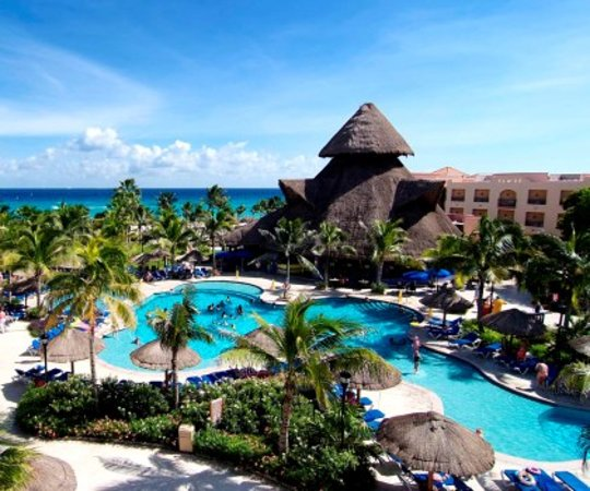 Sandos Playacar Beach Resort &amp; Spa: pool playacar