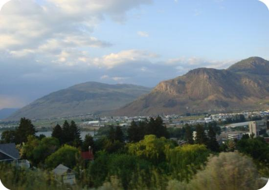 Kamloops, BC., a place tied (in my opinion) with Medicine Hat, AB., for the stupidest sounding n