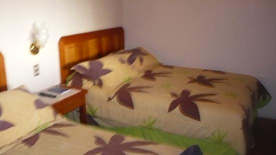 Posada de los Volcanes: nice comfy bed