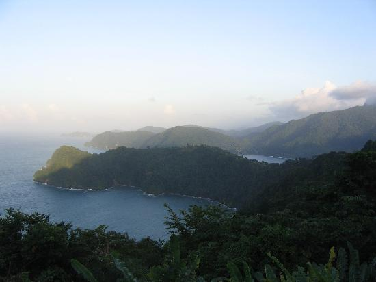 Hyatt Regency Trinidad: Views if your lucky enough to escape port of spain