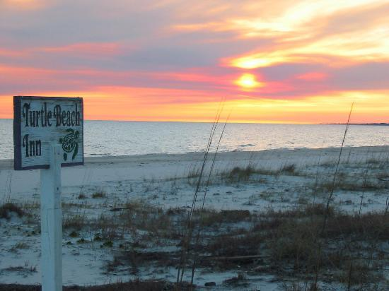 Turtle Beach Inn: Florida sunset