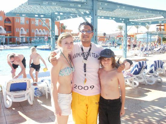 Sunrise Select Garden Beach Resort & Spa: Mimo and the kids