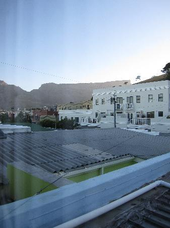 African Elite de Waterkant: View of table mountain from Master Suite at 96 Loader