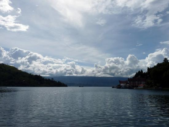 View from the Boat to Samosir Island