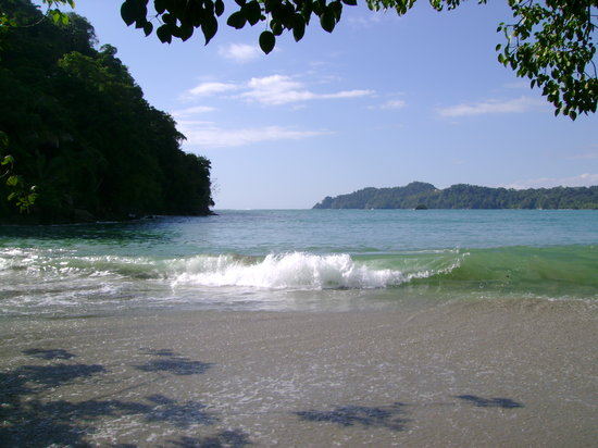Parque Nacional Manuel Antonio, Costa Rica: playa  gemelas en el parque