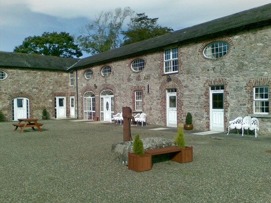 Wexford, Irlande : courtyard, more superb ensuite rooms