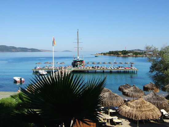 Rixos Premium Bodrum: the stunning scenery and the beach