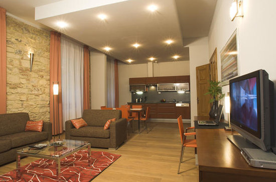 Prague City Apartments Residence Rybna