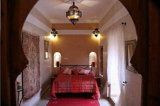 Riad Couleurs du Sud: Chambre Fleur d&#39;oranger