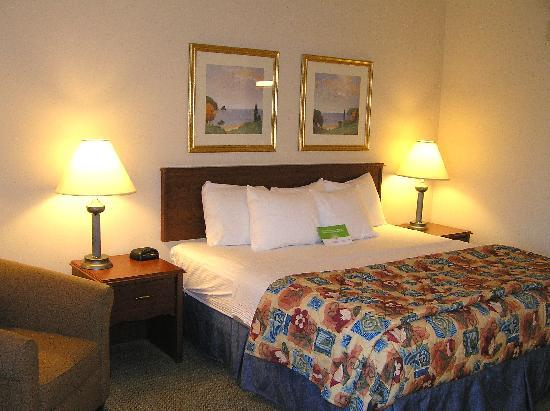 King-size bed and pillows - Picture of La Quinta Inn & Suites