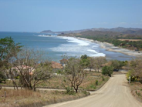 Popoyo, นิการากัว: View of Playa Santana (dry season)