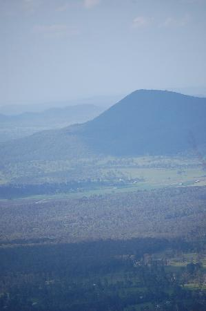 Zengarra: From the top of Mount Greville- looking towards Lake Moogerah