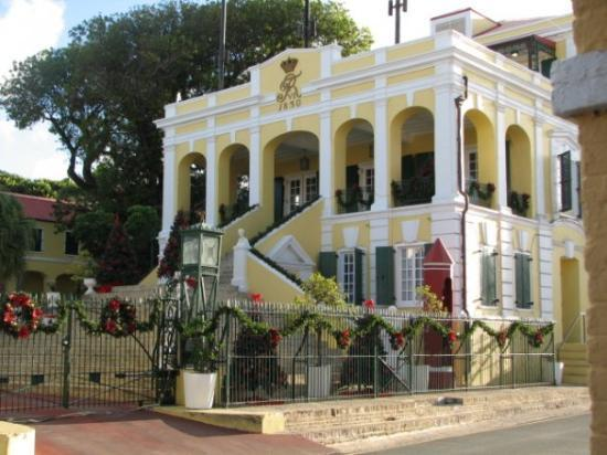 Government House In Christiansted Picture Of St Croix