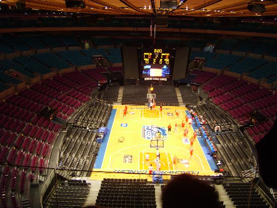 View From The Sky Box Picture Of Madison Square Garden New York City Tripadvisor