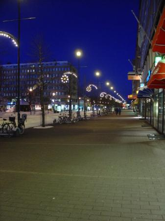 Center of Joensuu. Do you remember thoes lights?