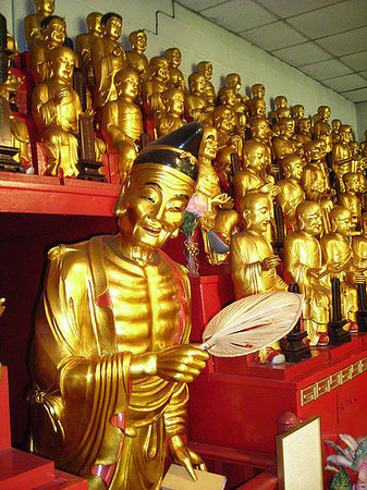 Mahayana Buddhist temple - Catskill, New York