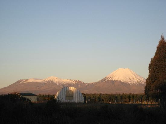 The Park Hotel Ruapehu: View from the Lodge