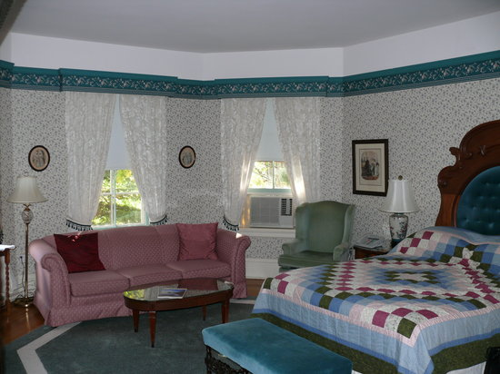 Elmwood Heritage Inn: Bedroom area