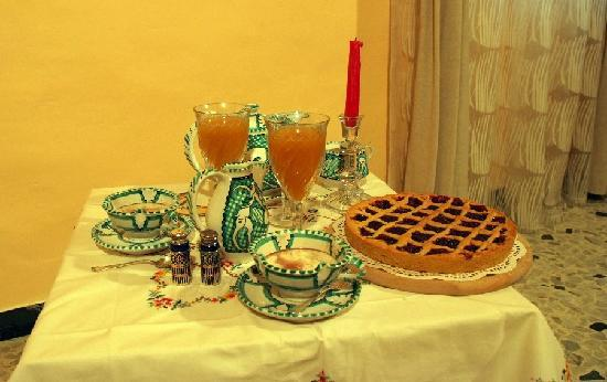 B&amp;B Garibaldi Orvieto: It&#39;s possible to have breakfast