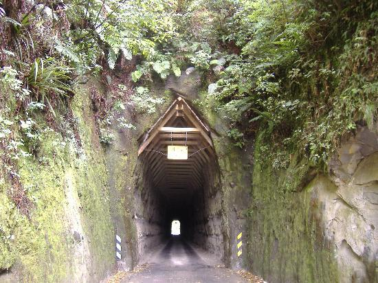 Stratford, Nowa Zelandia: Forgotten World Highway tunnel