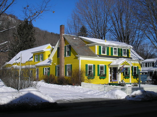 Woodstocker Inn: Woodstocker in the winter