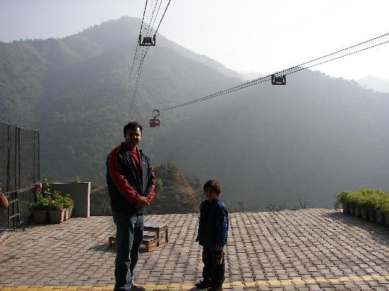 Mid Way On Cable Car