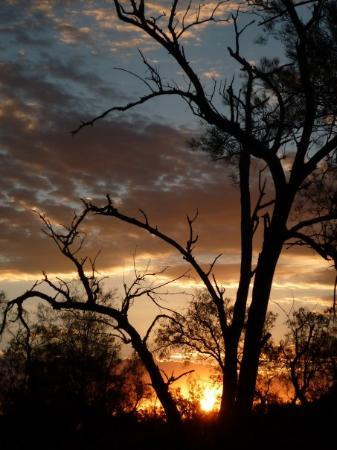 Broken Hill, Australia: My favourite of the sunset pics...no photoshopping at all!