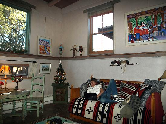 Inger Jirby's Guest Houses: another living room view