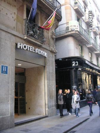 Object moved for Adagio hotel barcelone