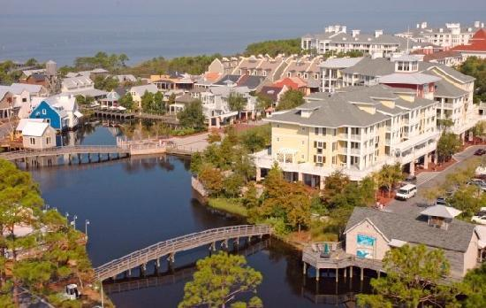 Aerial View Of The Village Of Baytowne Wharf Picture Of