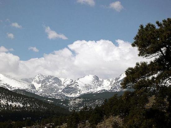 Rocky Mountain Views: View from our deck