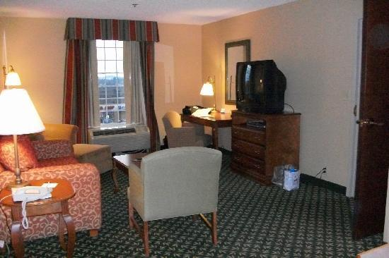 Hampton Inn &amp; Suites Hershey: living room