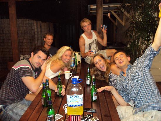 Newcastle Backpackers: Card games and good friends