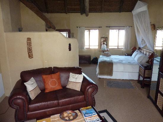 Elephants Footprint Lodge: View of the room