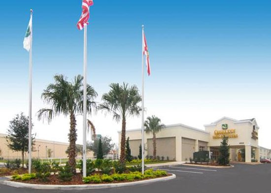 Quality Inn & Suites Near Fairgrounds Ybor City: Our beautiful, new property