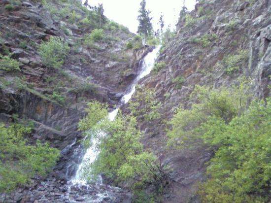 Casper falls, casper, wyoming