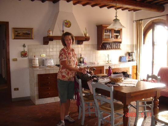 Montespertoli, Italia: kitchen