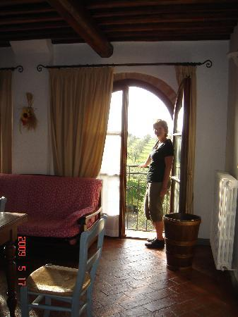 Montespertoli, Italia: bedroom