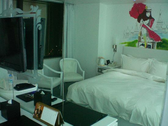 Une T Te De Lit Fort Agr Able Et Originale Picture Of Ip Boutique Hotel Seoul Tripadvisor