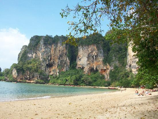 Krabi Mountain View Resort: plage