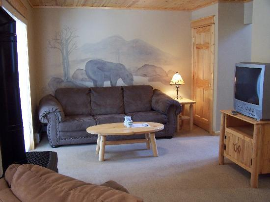 Bear Creek Vacation Condos: Livingroom