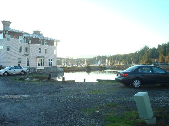The Resort at Port Ludlow: The hotel and Marina
