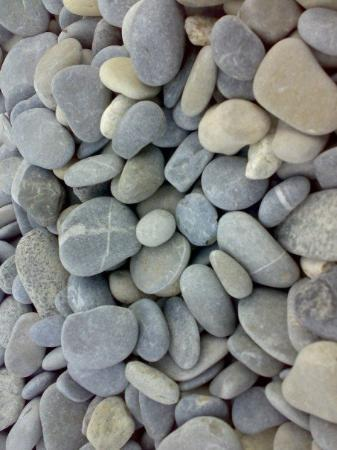 pebbles on the beach at Cagnes-Sur-mer