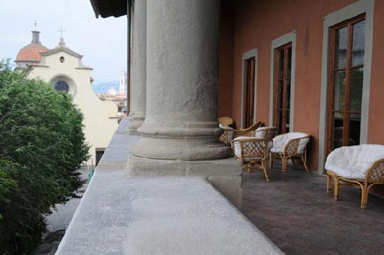 Hotel Palazzo Guadagni: Loggia
