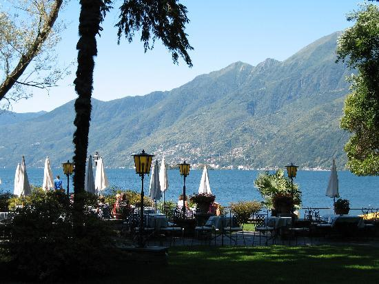 View of Lake Maggiore from Ascona