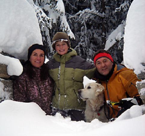Hotel Elite Saas-Fee: Family Sybille Meyer