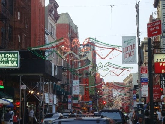 Little Italy New York City Ny Address Phone Number