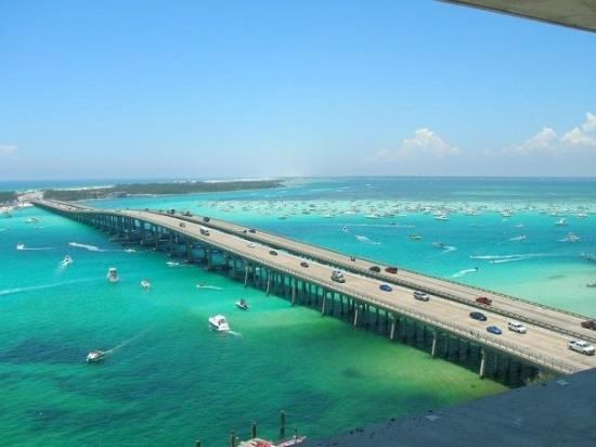 Fort Walton Beach, FL: DESTIN FLORIDA BRIDGE.  FLORIDA PANHANDLE.