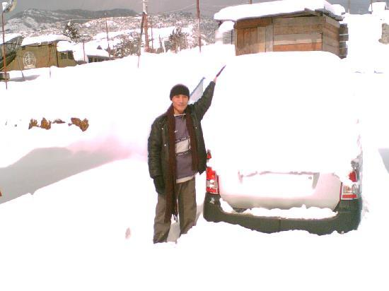 this is the snow of Tawang